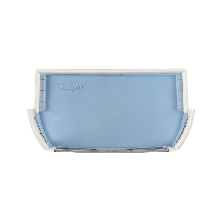 genuine w10451501 whirlpool refrigerator door shelf bin ebay. Black Bedroom Furniture Sets. Home Design Ideas